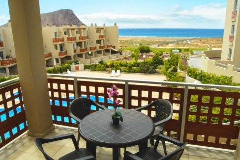 beach front apartment tenerife